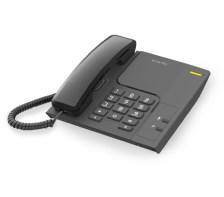 Σταθερό Τηλέφωνο Alcatel T26 Black