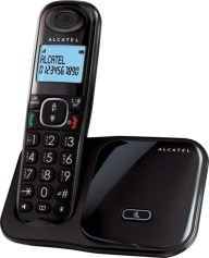 Ασύρματο Τηλέφωνο Alcatel XL280 Black
