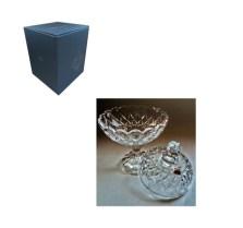 Φοντανιέρα Γυάλινη Με Πόδι Home&Style 8494