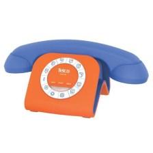 Σταθερό Τηλέφωνο Telco GCE 3100 Μπλε-Πορτοκαλί