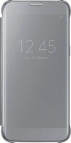 Θήκη Samsung Original Clear View Cover for Samsung Galaxy S7, Silver (EF-ZG930CSEGWW)