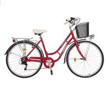 Γυναικείο Ποδήλατο Orient City Bikes Alloy Nostalgie 28 Lady, Κόκκινο