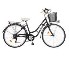 Γυναικείο Ποδήλατο Orient City Bikes Alloy Nostalgie 28 Lady, Μαύρο
