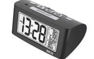 Ρολόι-Ξυπνητήρι Telco Ε0117S Μαύρο