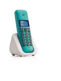 Ασύρματο Τηλέφωνο Dect Motorola T301 Turquoise