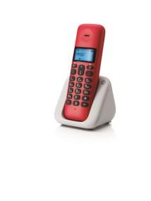Ασύρματο Τηλέφωνο Dect Motorola T301 Cherry