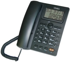 Σταθερό Τηλέφωνο με Οθόνη Osio OSW-4710B Μαύρο