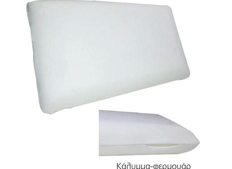 Μαξιλάρι Ύπνου Foam 60x34x12cm (Ε2046)