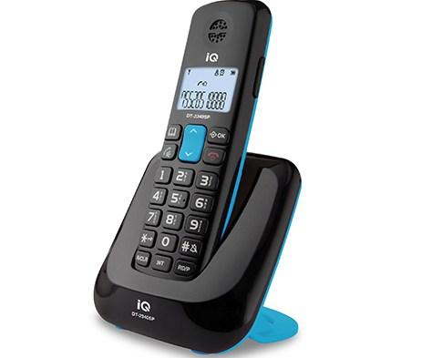 Ασύρματο Τηλέφωνο IQ DT-2340SP Μαύρο