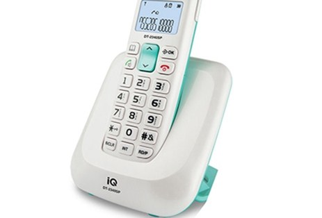 Ασύρματο Τηλέφωνο IQ DT-2340SP Λευκό
