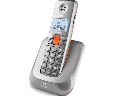 Ασύρματο Τηλέφωνο IQ DT-2340SP Ασημί