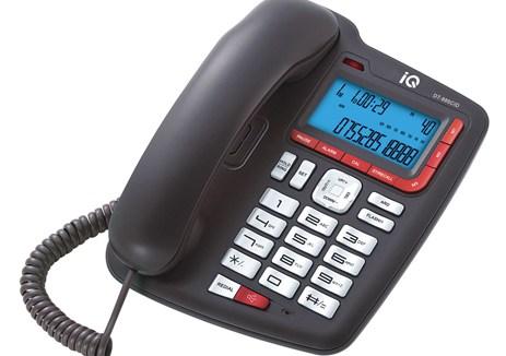 Επιτραπέζιο Τηλέφωνο με Αναγνώριση Κλήσης IQ DT-885CID