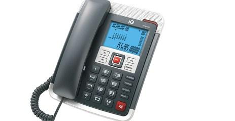 Σταθερό Τηλέφωνο IQ DT-891CID Μαύρο