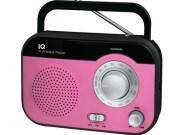 Φορητό Ραδιόφωνο FM/AM IQ PR-139 Ροζ