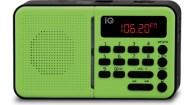 Φορητό Ραδιόφωνο FM/AM IQ PR-140 Πράσινο