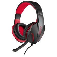 Gaming Headset με Ρυθμιζόμενο σε Κλίση Μικρόφωνο Nod G-HDS-001 Μαύρο