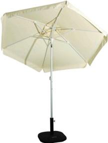 Ομπρέλα Βεράντας-Θαλάσσης 2m 372-6587-4 Εκρού