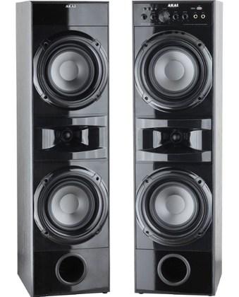 Ηχεία Home Cinema 2.0 με Bluetooth/USB & Ενισχυτή-Karaoke Akai SS035A-189