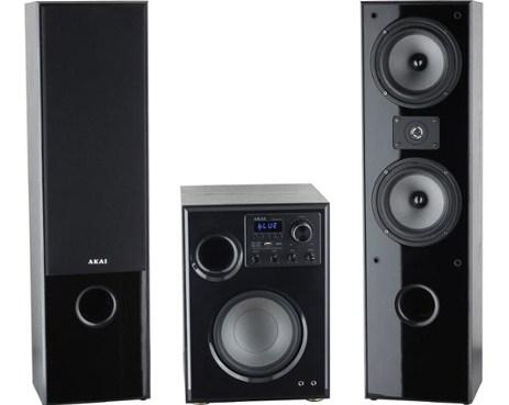 Ηχεία Home Cinema 2.1 με Bluetooth/USB & Ενισχυτή-Karaoke Akai SS034A-66TT