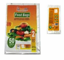 Σακούλα Τροφίμων Μεσαία No2 Avra 50 τεμ Home&Style 26102-50