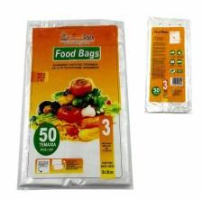 Σακούλα Τροφίμων Μεγάλη No3 Avra 50 τεμ Home&Style 26103-50