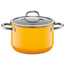 Χύτρα Με Καπάκι 24cm Silit 21.0229.8151 Passion Yellow