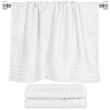 Πετσέτα Μπάνιου Άσπρη 70x140cm Fennel Comfort TWCO-70140-WH