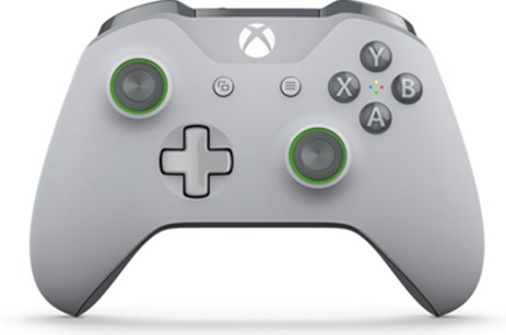 Χειριστήριο Ασύρματο Microsoft Grey/Green Wireless WL3-00061 - Xbox One Controller