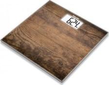 Γυάλινη Ψηφιακή Ζυγαριά Μπάνιου Beurer GS 203 Wood