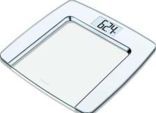 Γυάλινη Ψηφιακή Ζυγαριά Μπάνιου Beurer GS 490 White