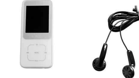 MP4 8GB Osio SRM-8380W Λευκό