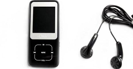MP4 8GB Osio SRM-8380B Μαύρο