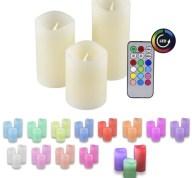 Διακοσμητικα Κεριά Led με Τηλεχειριστήριο Olympia LED 48