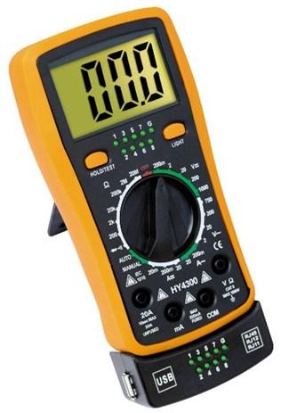 Πολύμετρο με Ελεγχο Καλωδιωσεων OEM HY-1300