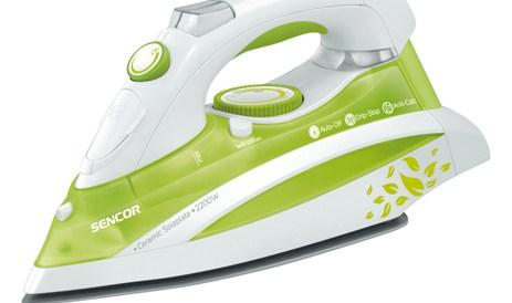Σίδερο Ατμού με Κεραμική Πλάκα Sencor SSI 8440GR 2200W Πράσινο