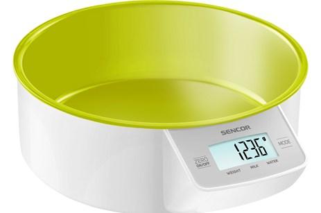 Ζυγαριά Κουζίνας με Μπωλ Sencor SKS 4004GR Πράσινη