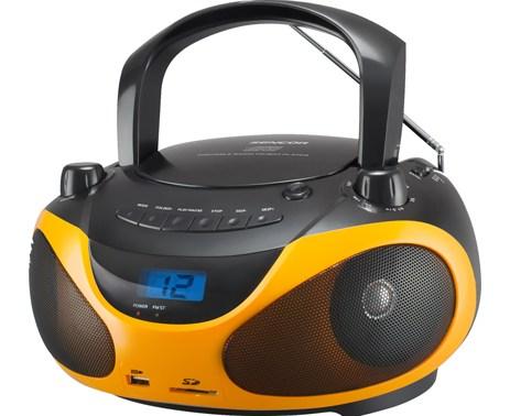 Φορητό Ράδιο-CD Sencor SPT 228 BO Πορτοκαλί