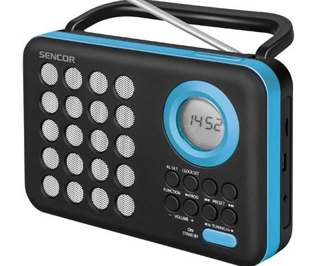 Ψηφιακό Ραδιόφωνο Sencor SRD 220 BBU Γαλάζιο