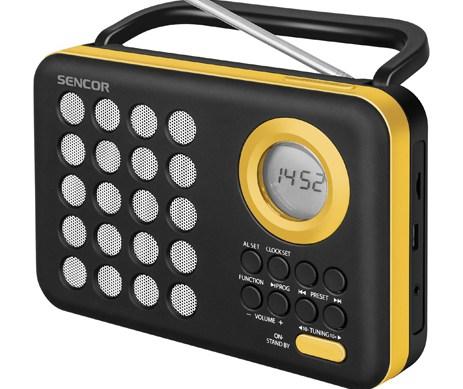 Ψηφιακό Ραδιόφωνο Sencor SRD 220 BYL Κίτρινο