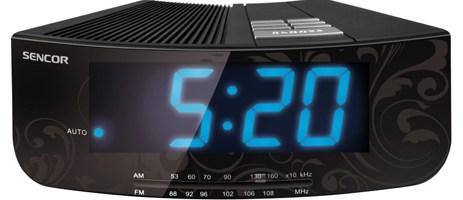 Ψηφιακό Ράδιο-Ρολόϊ Sencor SRC 108 B