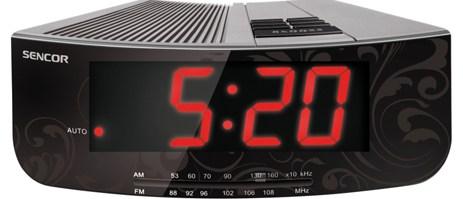 Ψηφιακό Ράδιο-Ρολόϊ Sencor SRC 108 S