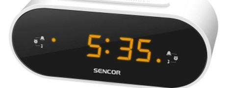 Ψηφιακό Ράδιο-Ρολόϊ Sencor SRC 1100 W