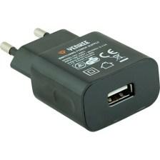 Φορτιστής USB 1000mA Yenkee YAC-2003BK