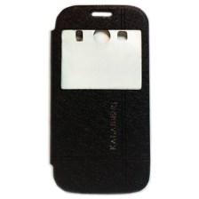 Θήκη Book KLD Iceland II για Samsung G357 Galaxy Ace 4 με Παράθυρο Μαύρη (ICEACE4BK)