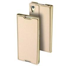 Θήκη Book KLD Skin Pro για Sony Xperia L1 Χρυσό (0009094106)