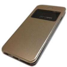 Θήκη Book KLD Sun για Apple iPhone 6+/6s+ Χρυσή (KLDSUNIP6PLGD)