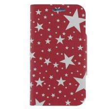 Θήκη Book Stars για Samsung i8260-i8262 Core Ροζ/Άσπρη Mjoy MJ10912