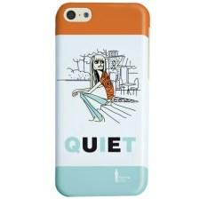 Θήκη Kilroy Ideus για Apple iPhone 5/5s/5se Quiet Woman (COKIIP5CQUIET)