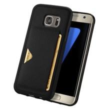 Θήκη KLD Pocard για Samsung G930 Galaxy S7 Ανθρακί (KLDCARDS7BK)