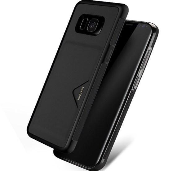Θήκη KLD Pocard για Samsung G950 Galaxy S8 Ανθρακί (KLDCARDS8BK)